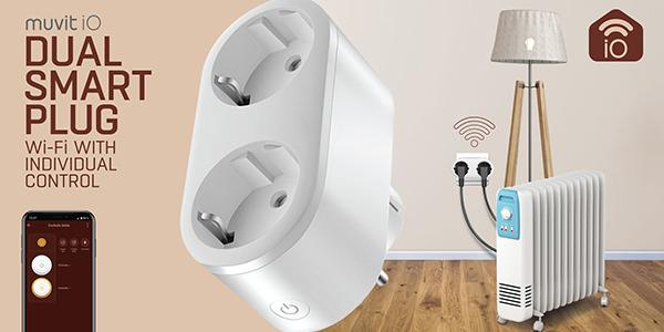 Enchufe inteligente Wi-Fi muvit iO
