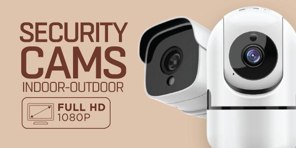 Cámaras de seguridad Wi-Fi muvit iO